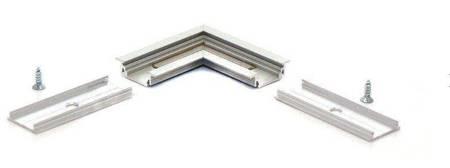 Łącznik kątowy 90° do profilu aluminiowego LED - wpuszczanego GROOVE10