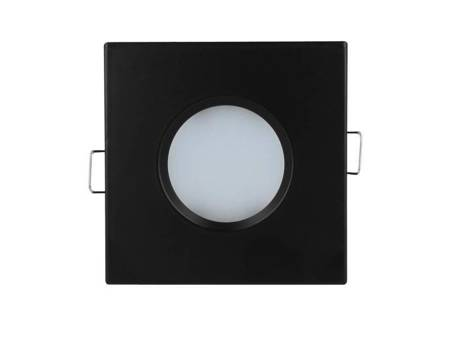 Oprawa sufitowa LED line® wodoodporna kwadrat odlew czarna