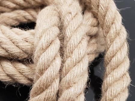 Oprawa sznur jutowy konopny 1,5 metra 3xE27