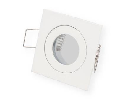 Oprawa wodoodporna MR11 kwadratowa biała