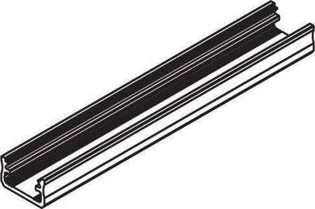 Profil nawierzchniowy czarny anodowany typ A 1 metr
