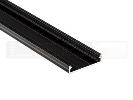 Profil nawierzchniowy czarny anodowany typ SOLIS 2 metry