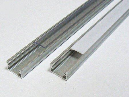 Profil nawierzchniowy srebrny anodowany typ A 1 metr