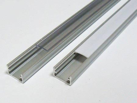 Profil nawierzchniowy srebrny anodowany typ A 2 metry