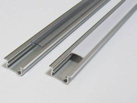 Profil wpuszczany srebrny anodowany typ B 2 metry