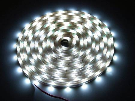 Taśma LED line 150 SMD 3528 biała zimna 10000-13000K w powłoce silikonowej IP65 5 metrów
