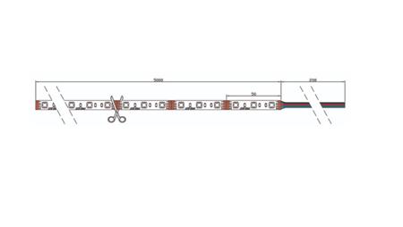 Taśma LED line 300 SMD 5060 RGBW 6100-6800K 5 metrów
