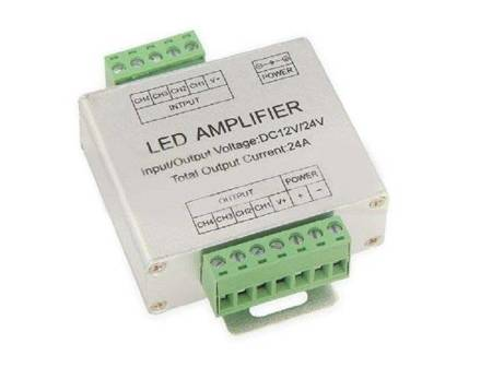 Wzmacniacz sygnału LED RGBW 12-24V 24A
