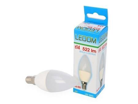 Żarówka LED E14 230V 522lm 6W 4000K biała dzienna