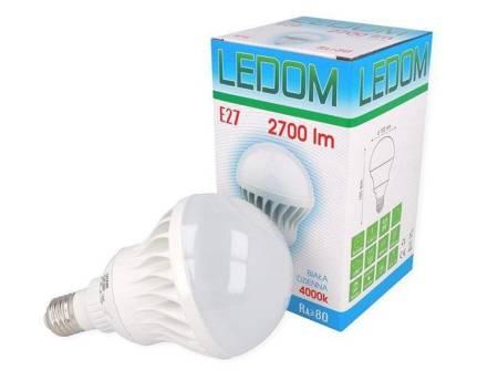 Żarówka LED E27 220-240V AC 30W 2700lm 4000K biała dzienna