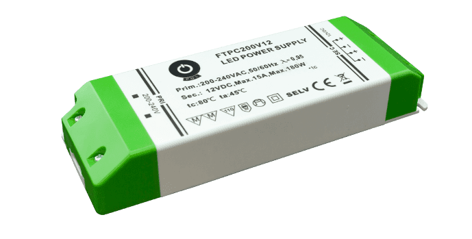 Zasilacz LED FTPC20012V 15A 200W 12V