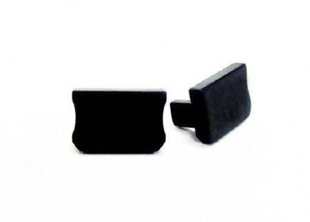 Zaślepka 1 sztuka do profilu SLIM Lumines typ X czarna